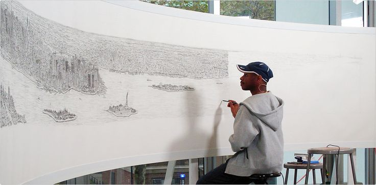 Amazing, Stephen Wiltshire.