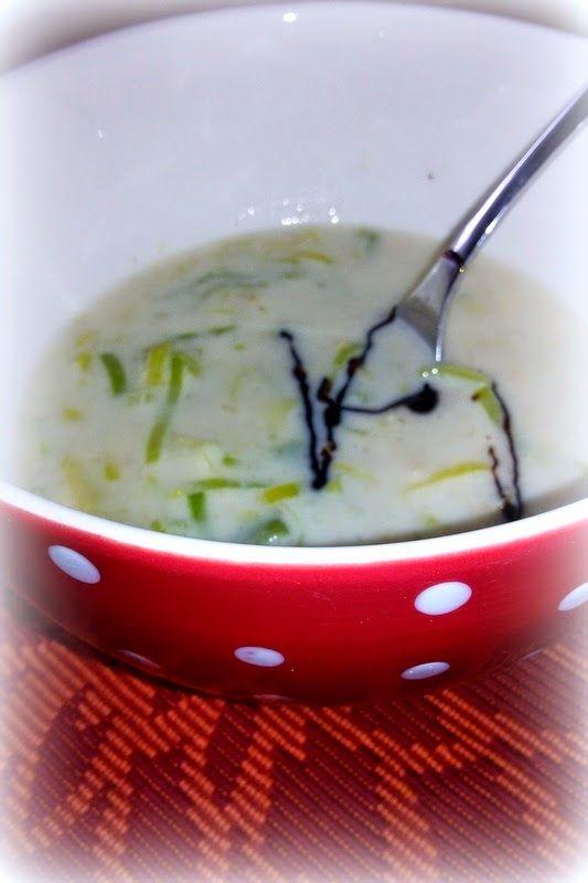 Simi´s Sattmacher- Rezepte und mehr.....: Lauch-Käsesuppe