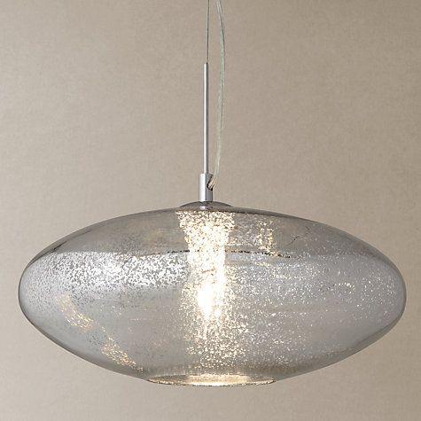 Buy John Lewis Tabitha Mercury Glass Pendant Online at johnlewis.com £120 70142059