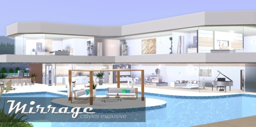 Residential house by ice1 at Cstyles - Sims 3 Finds
