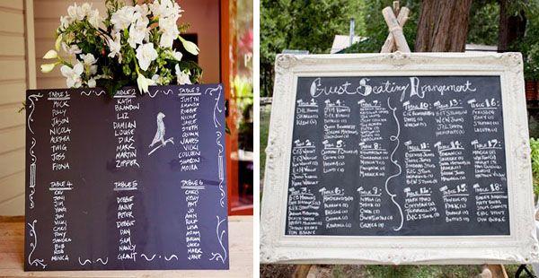 Tableau mariage che i vostri ospiti adoreranno