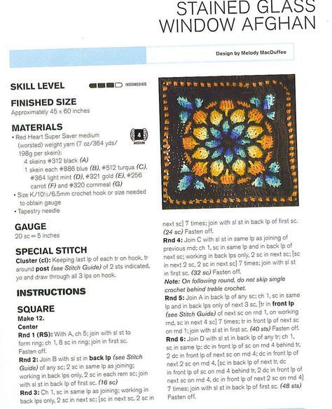 Stained-Glass-Window-Crochet-Squares-Blanket.jpg 1,089×1,342 pixels