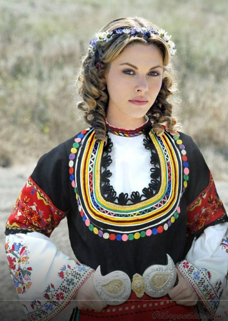 Hubavitca  Traditional Outfits, Bulgarian Women, Costumes -2418