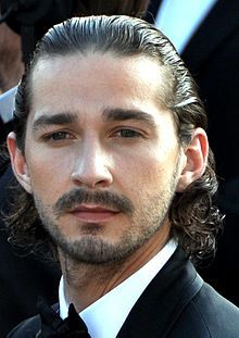 Shia LaBeouf Cannes 2012.jpg Liked him as zany Lewis Stevens on Disney and he just keeps getting better. #AMAZMERIZING
