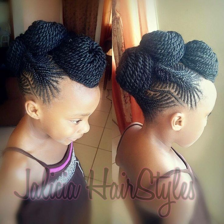 Children's Natural Hairstyles Mesmerizing 73 Best Kids Braided & Natural Hairstyles Images On Pinterest