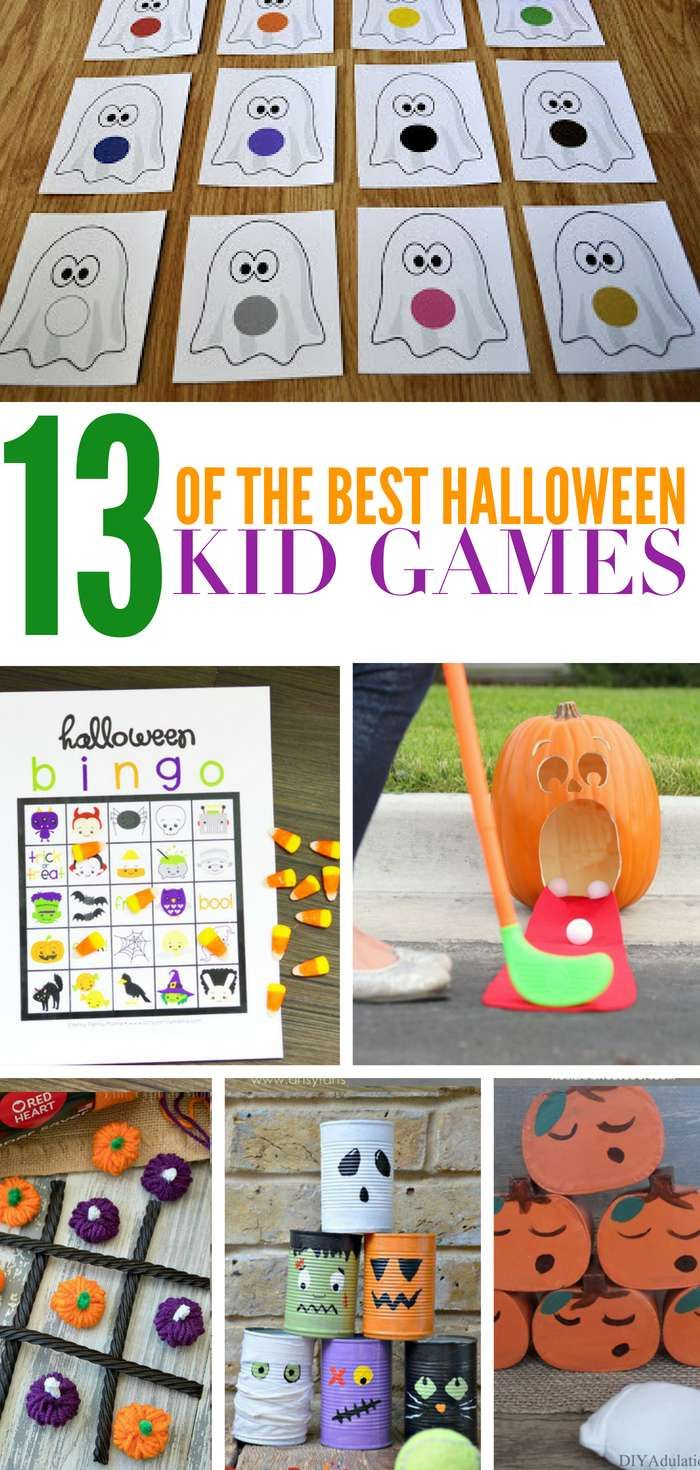 Check Out These 13 Diy Halloween Games That Are Perfect For