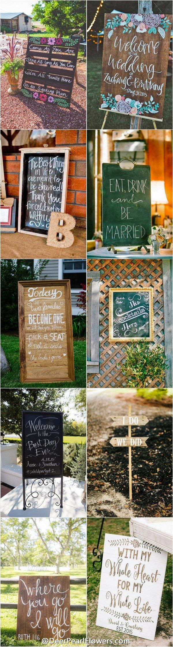 Best 25 Signs For Weddings Ideas On Pinterest