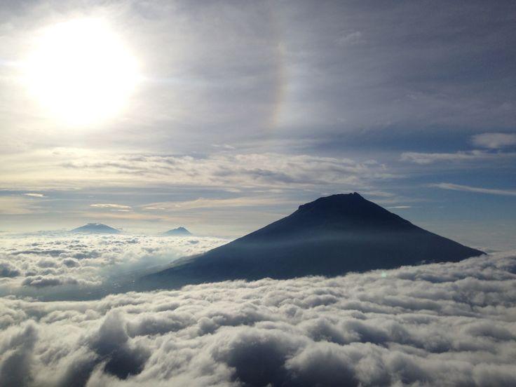 kenangan berdiri diatas awan #Gunung#Sumbing