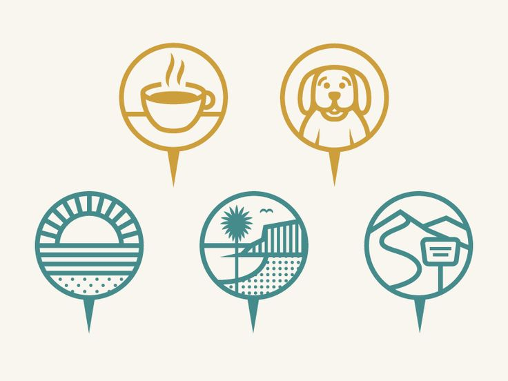 LBH Map Icons by Alex Rinker