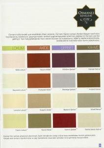 Marshall Boya Osmanlı Renkleri | NetBilgiVer
