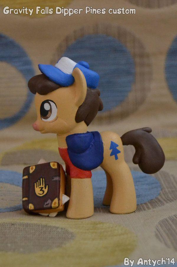 GRAVITY FALLS Dipper Pines pony custom by Antych on DeviantArt