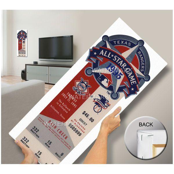 1995 MLB All-Star Game Mega Ticket, Rangers Host - MVP Jeff Conine, Marlins - $79.99