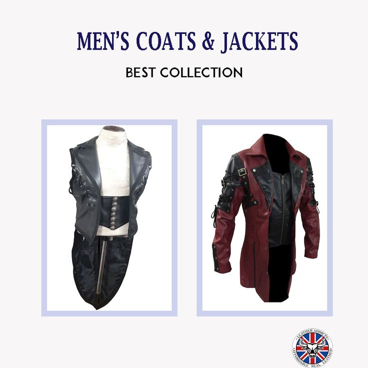 Mens Coats & jackets  Starting From: $124 - $198  #leather #jeans #pure #people #uk #usa #canada  #gay #fashion #marketing #clothing #handmade #mensfashion #trend #leatheraddicts #outfit #winter #winterfashion #trumps #colors #snowfun #igfashion #gloomy #newlook #sales