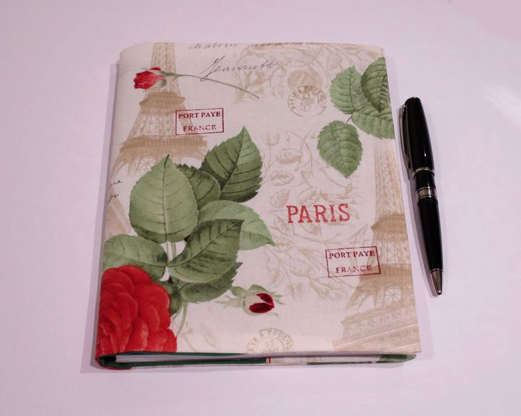 Fabric Book Cover, Suits A5 Notebook, Bonus Notebook Included, Paris Journal, Paris Notebook, Travel Diary, Travel Planner, Paris Book Cover by JadoreBooks on Etsy https://www.etsy.com/au/listing/452087230/fabric-book-cover-suits-a5-notebook