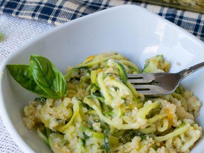 Cheesy Zucchini Pasta Quinoa Bake | Recipes | Pinterest