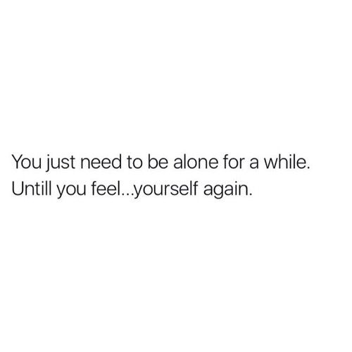 I'm trying... I'm just not sure how much I'll allow myself to feel again after this year. Or how long it will take to open up.