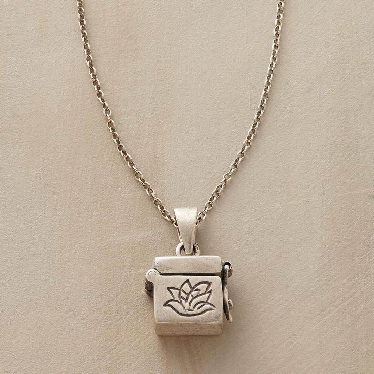 33 best Prayer box necklaces images on Pinterest Prayer box