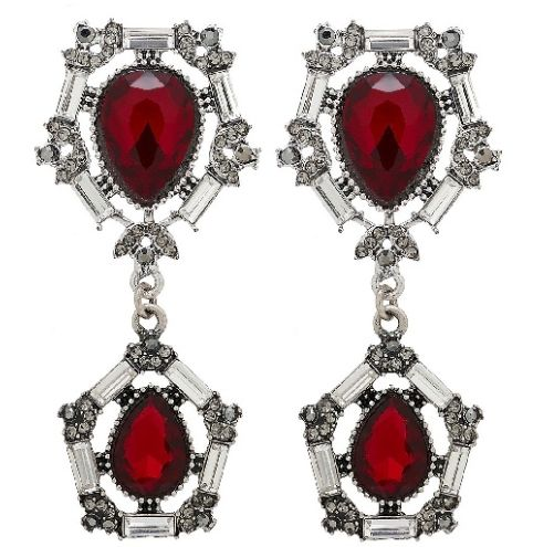 Timeless Petite Red Earrings available at www.stellanemiro.com