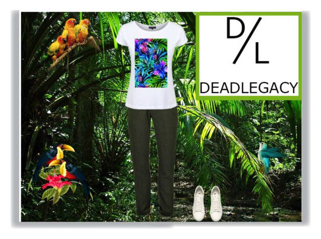 """Show Your Fall Dead-Legacy Style"" by verte-stylo ❤ liked on Polyvore featuring Dead Legacy and H&M"