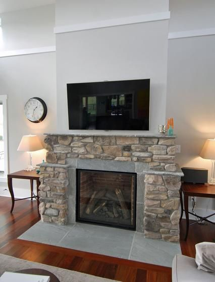 18 best contemporary farmhouse images on pinterest for Modern farmhouse fireplace