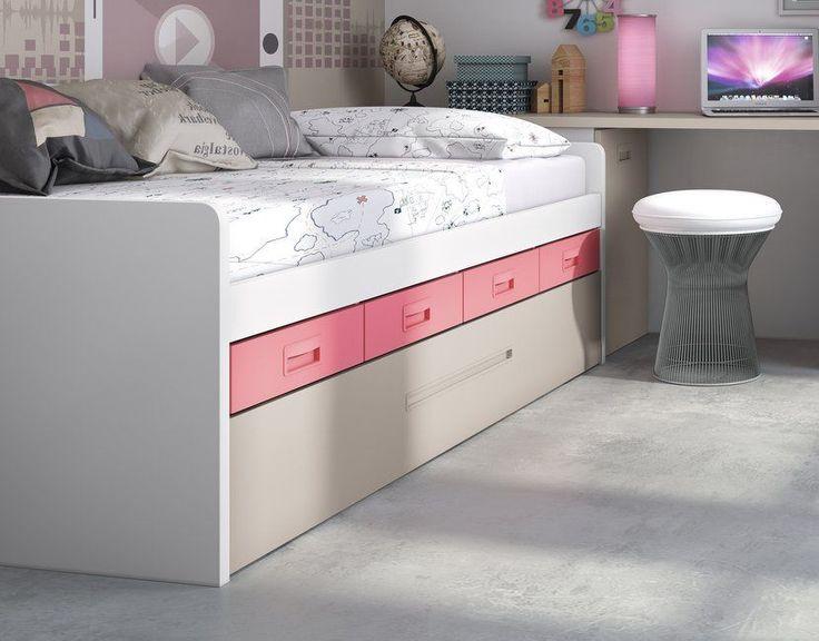 Las 25 mejores ideas sobre camas marineras en pinterest for Cama nido nina barata