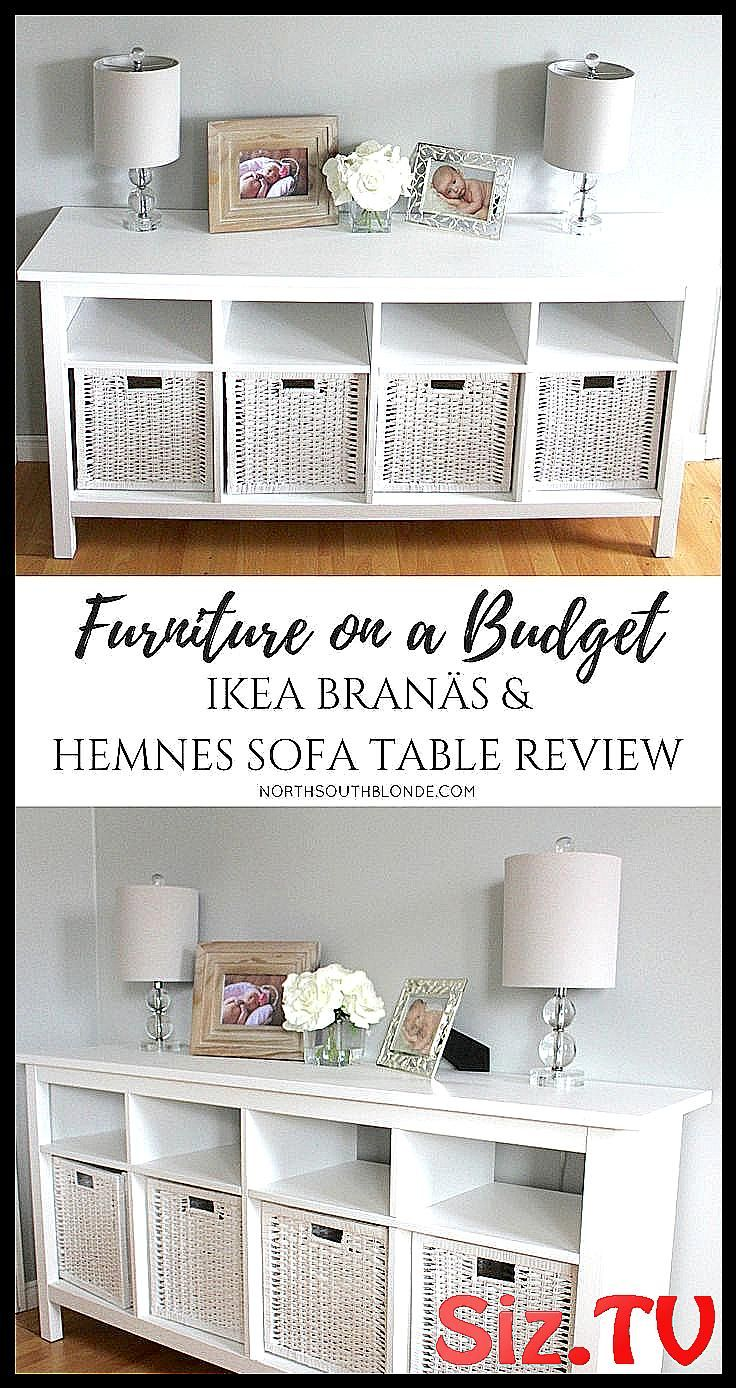 Furniture On A Budget Ikea Bran S And Hemnes S Branas Budget