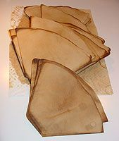 Go Make Something » Coffee Filters & Coffee Staining