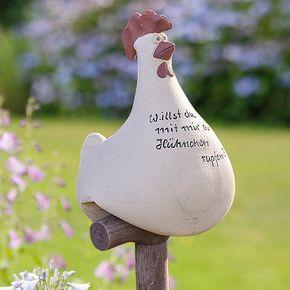 Hühnerhaufen, Neue Artikel 2012, Gartendeko, Tierische Gartendeko, Alles aus Ke… – Frühling/ Ostern