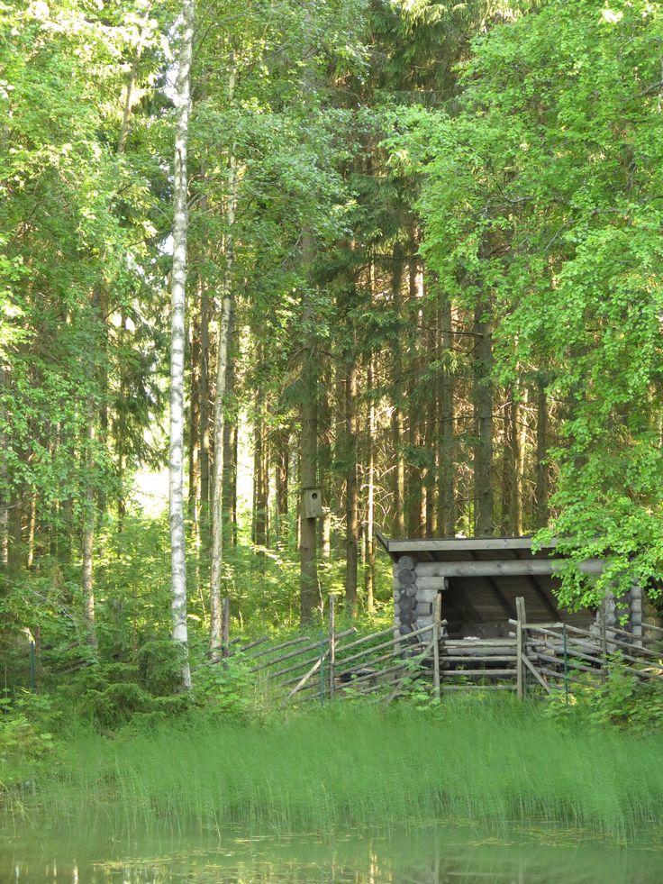 Suomi - Finland - Laavu