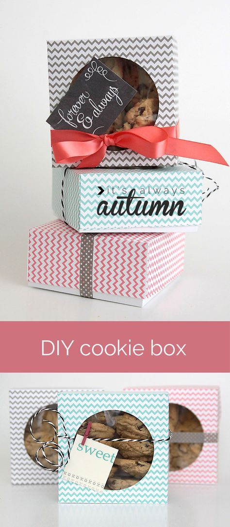 sample letter to attorney%0A easy DIY folded paper cookie  u     treat gift box tutorial