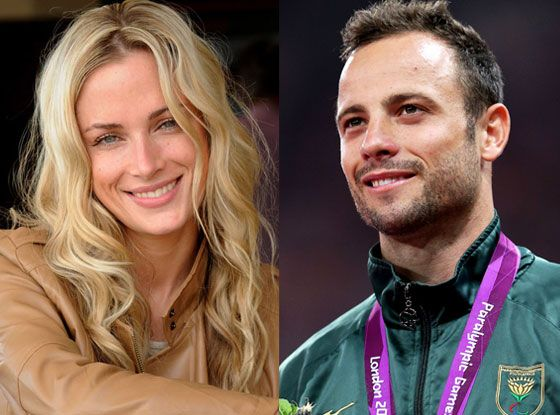 Oscar Pistorius mourns for Reeva Steenkamp on first anniversary of day he killed her