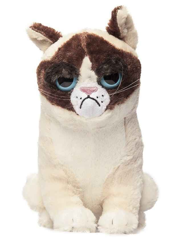 This stuffed Grumpy Cat: