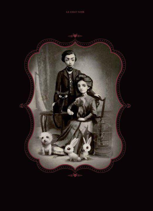 1000 images about poe ilustraciones on pinterest - El gato negro decoracion ...