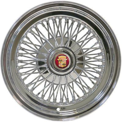 Cadillac Wire Wheels for 1957-1996 Rear Wheel Drive Cadillacs Knock-Off Type NEW