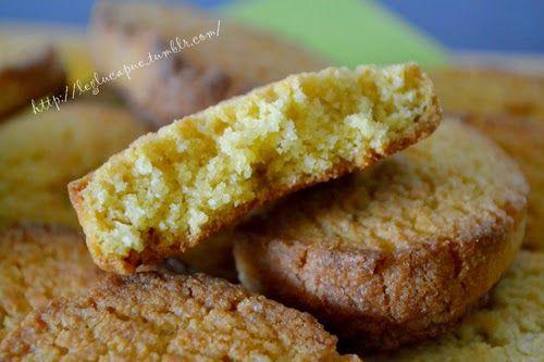SANS GLUTEN SANS LACTOSE: Sablés aux amandes sans gluten et sans lactose