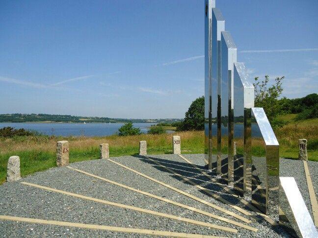Diamond jubilee sundial Roadford lake