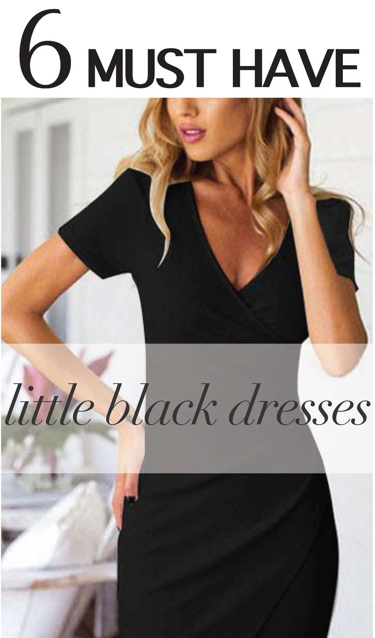 Black dress goals - Find This Pin And More On Little Black Dresses