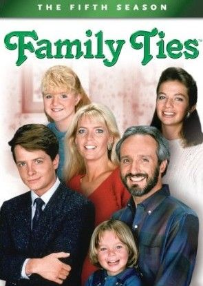 Family Ties: The Fifth Season [4 Discs] [DVD]