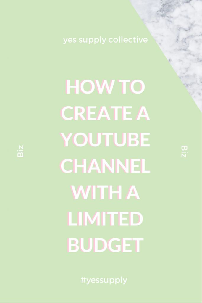 Find out how you can start a youtube channel with a limited budget with Natasha Solae, Video Marketing Expert. These are quick and simple things you can easily do to start on youtube and make money. This post will walk you through the steps on how to star
