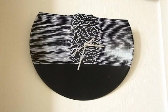 Horloge disque vinyle 33t Joy Division