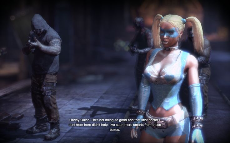 Batman Arkham City Harley Quinn | Batman Arkham City ...