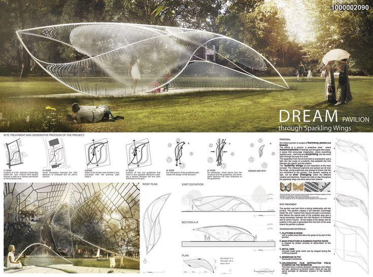 2nd Prize Triumph Pavilion 2014 Design Competition   D.U.I.: Cecilia Sannella + Claudia Chirianni