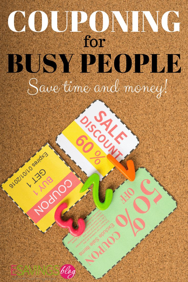 How to start couponing even if you're super busy! Using coupons can save you hundreds and it's not that hard to do. #coupons #couponing