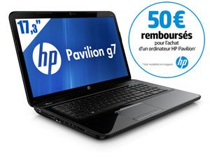 Solde Ordinateur Rue du Commerce - Ordinateur Portable 17,3'' HP Pavilion G7-2346SF