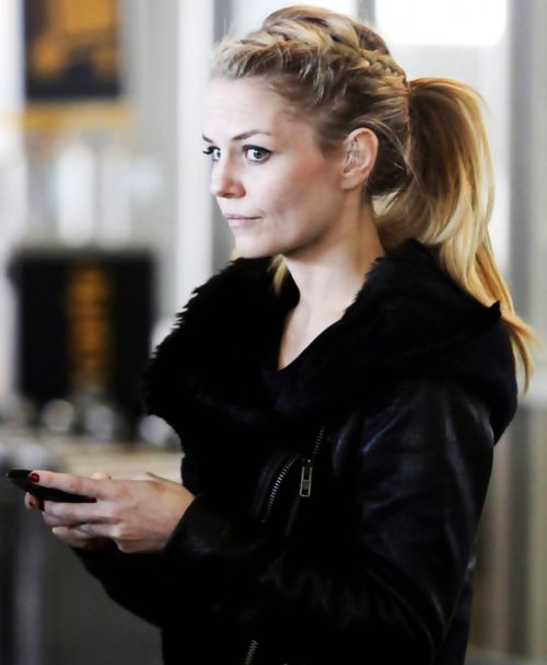 Jennifer Morrison braided ponytail