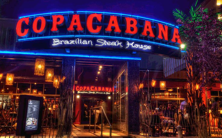 CopaCabana Brazilian Steakhouse (150 Eglinton Ave., Toronto). All-you-can-eat meaty goodness. Their salad bar is surpisingly delicious too! And don't for get the Brazilian dancers and martial arts to entertain you while you eat.