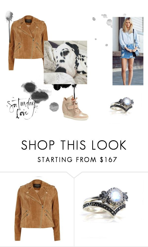 """Lazy Saturday"" by rlscully ❤ liked on Polyvore featuring River Island"