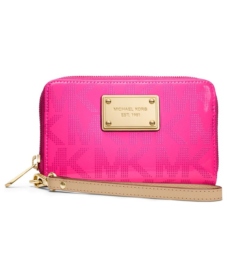 b02d1e598a8f Buy pink mk wristlet   OFF63% Discounted