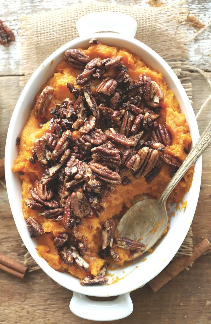 Vegan Thanksgiving Recipe Squash Sweet Potato Mash