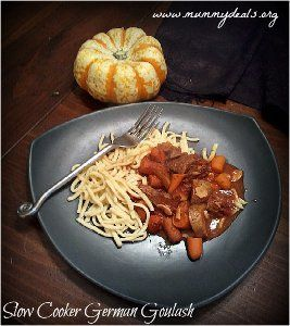Slow Cooker German Goulash | AllFreeSlowCookerRecipes.com